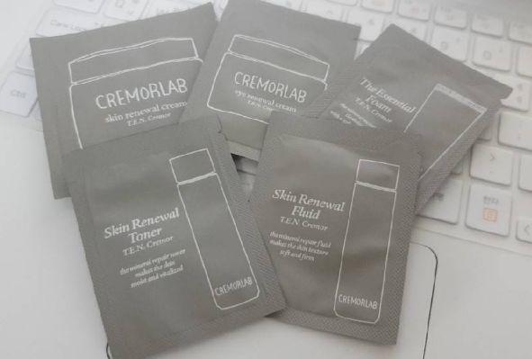 CREMORLAB skin care 5 items