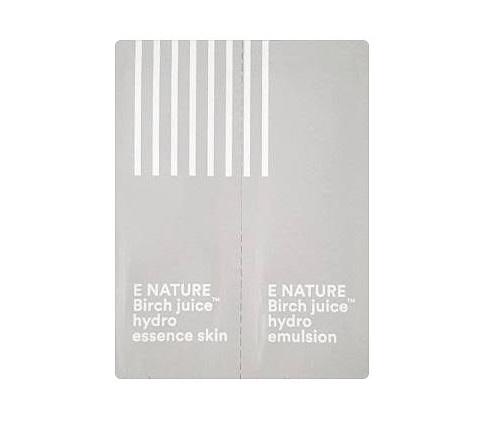 E nature Birch juice Hydro Essence skin1ml + emulsion 1ml x3ea