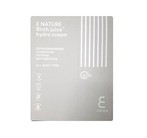 E nature Birch juice hydro cream 1ml*3ea