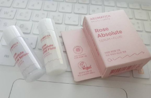 aromatica beauty x safety Rose Absolute serum 8ml+fluid 8ml