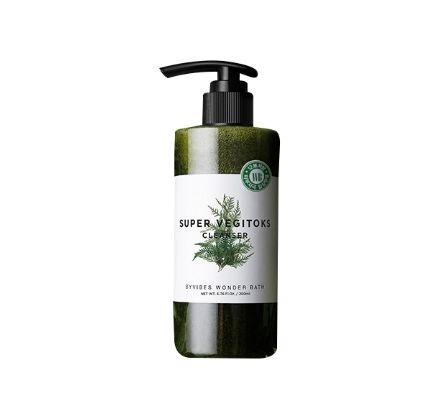 Wonder bath Super Vegitoks Cleanser #Green 300ml