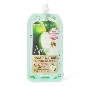 Nature republic Hand & Nature sanitizer gel -Apple 30ml