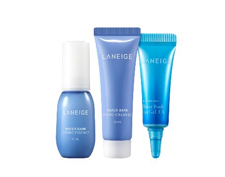 Laneige Water bank  HydroTrial kit 3 items