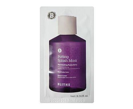 BLITHE Patting Splash mask Rejuvenating purple berry 5mlx4ea