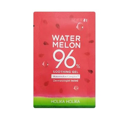 Holika Water melon 96% Soothing Gel 1mlx10ea