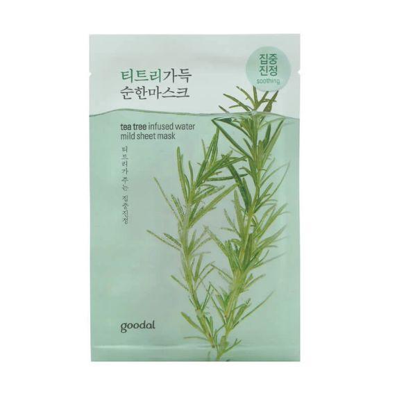 goodal Tea tree infused water mild sheet mask