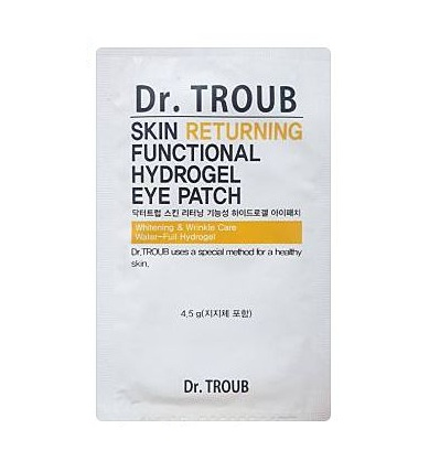 Dr.troub skin returning functional hydrogel eye patch