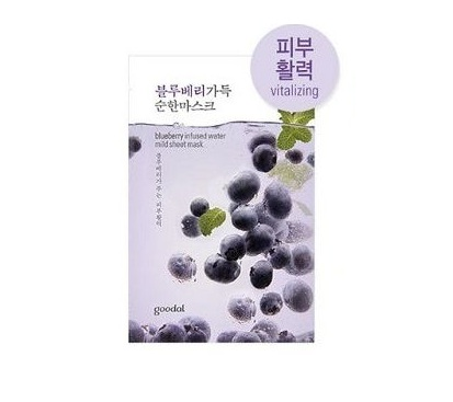 goodal Blueberry infused water mild sheet mask