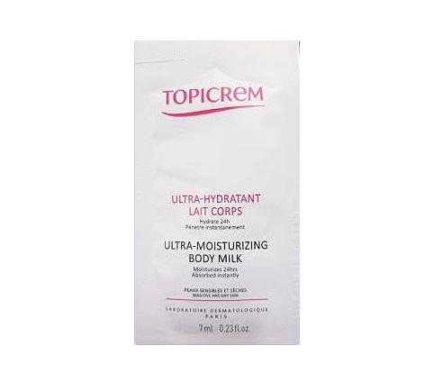 TOPICREM Ultra-Moisturizing Body milk 7ml