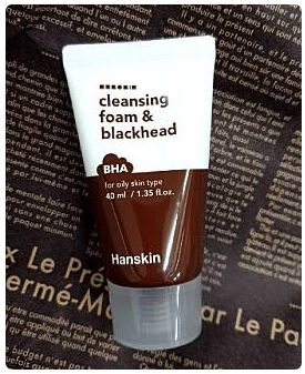 Hanskin Cleansing foam & Blackhead BHA 40ml