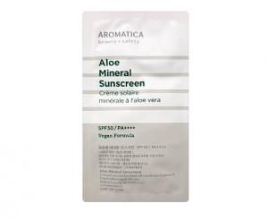 Aromatica Aloe Mimeral sunscreen SPF50/PA++++ 6ml*3ea