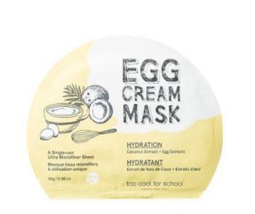 toocoolforschool EGG Cream Mask