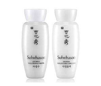 Sulwhasoo Snowise Brightening water 30ml +emuslsion30ml