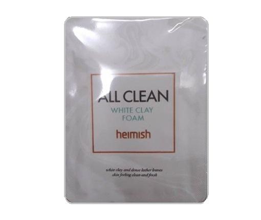 heimish All Clean white clay foam 2mlx10ea