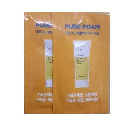 Manyo pure & Deep Cleansing foam 2mlx2ea