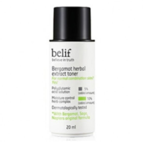 belif Bergamot herbal extract toner 20ml