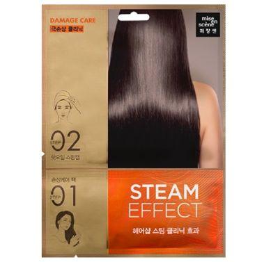 Mise en scene Damage care Steam effect Hair pack