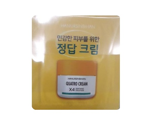 HANURSINBIHAN Quatro cream X4 soothing solution 1mlx10ea