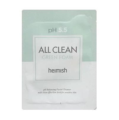 heimish All Clean Green foam 2ml x 6ea