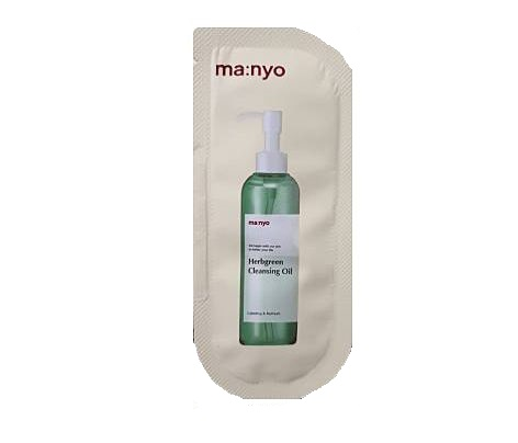 ma:nyo Herbgreen Cleansing oil 2mlx2ea