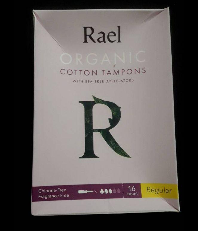 Real Organic Cotton tampons #Regular  16count