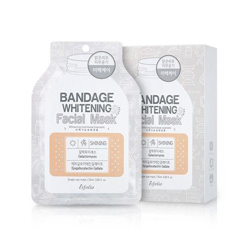 esfolio Bandage Whitening Facial Mask 1sheet