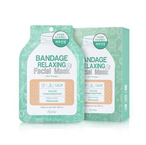 esfolio Bandage Relaxing Facial Mask 1sheet