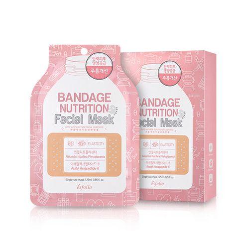 esfolio Bandage Nutrition Facial Mask 1sheet