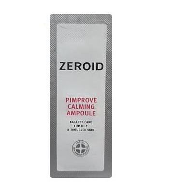 ZEROID pimprove calming ampoule 1mlx8ea
