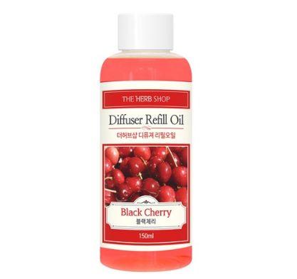 THE HERB SHOP Diffuser Refill Oil 150 ml [Black Cherry]
