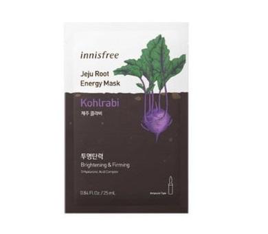 Innisfree Jeju Root energy mask # Kohlrabi