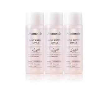 Mamonde Rose water Toner 25ml *3ea