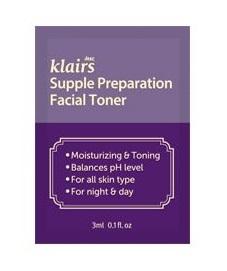 Klairs Supple preparation facial toner 3ml*10ea