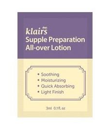 Klairs Supple preparation all-over lotion 3ml*4ea