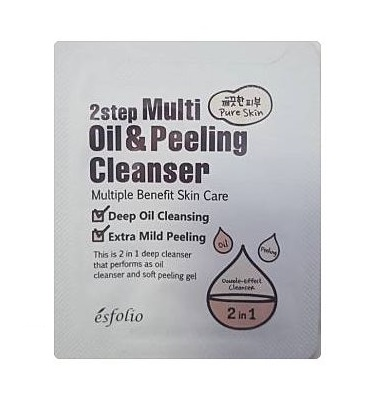 esfolio 2step Multi Oil & Peeling Cleanser 2ml*2ea