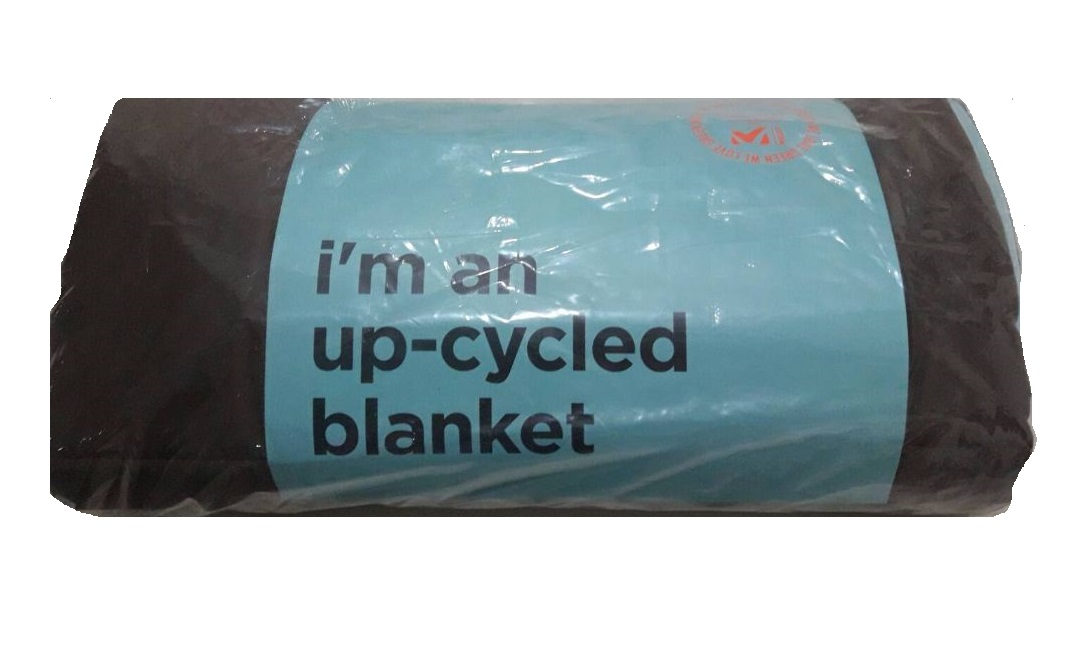 i'm an up- cycled blanket