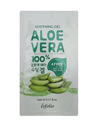 esfolio Aloe Vera Soothing Gel 100%_5ml*2ea