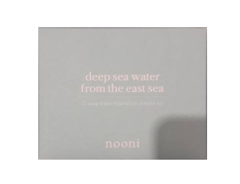 nooni Deep sea water from the east sea 2-step fresh hydrotion simple kit