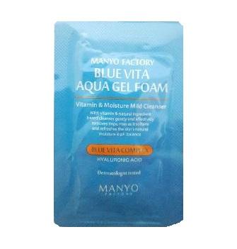 MANYO factory Blue vita aqua Gel foam 2ml*2ea