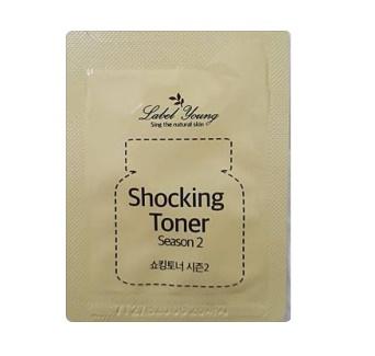 Label Young Shocking Toner Season 2_2g*2ea