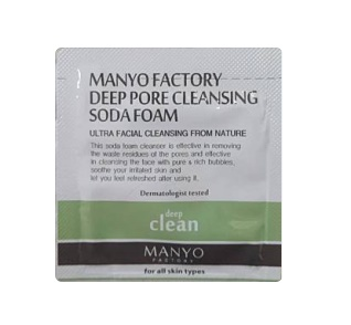 MANYO Deep pore cleansing soda foam 2ml*6ea
