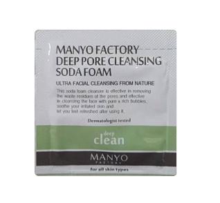 MANYO Deep pore cleansing soda foam 2ml*6ea
