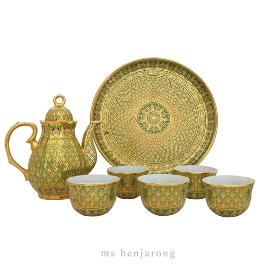 Tea Set Benjarong | Small