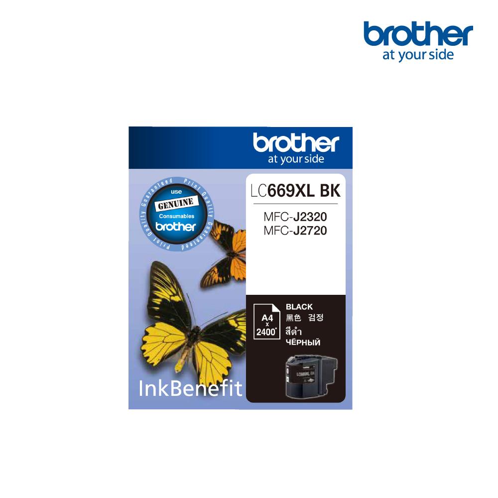 Brother LC669XL Black