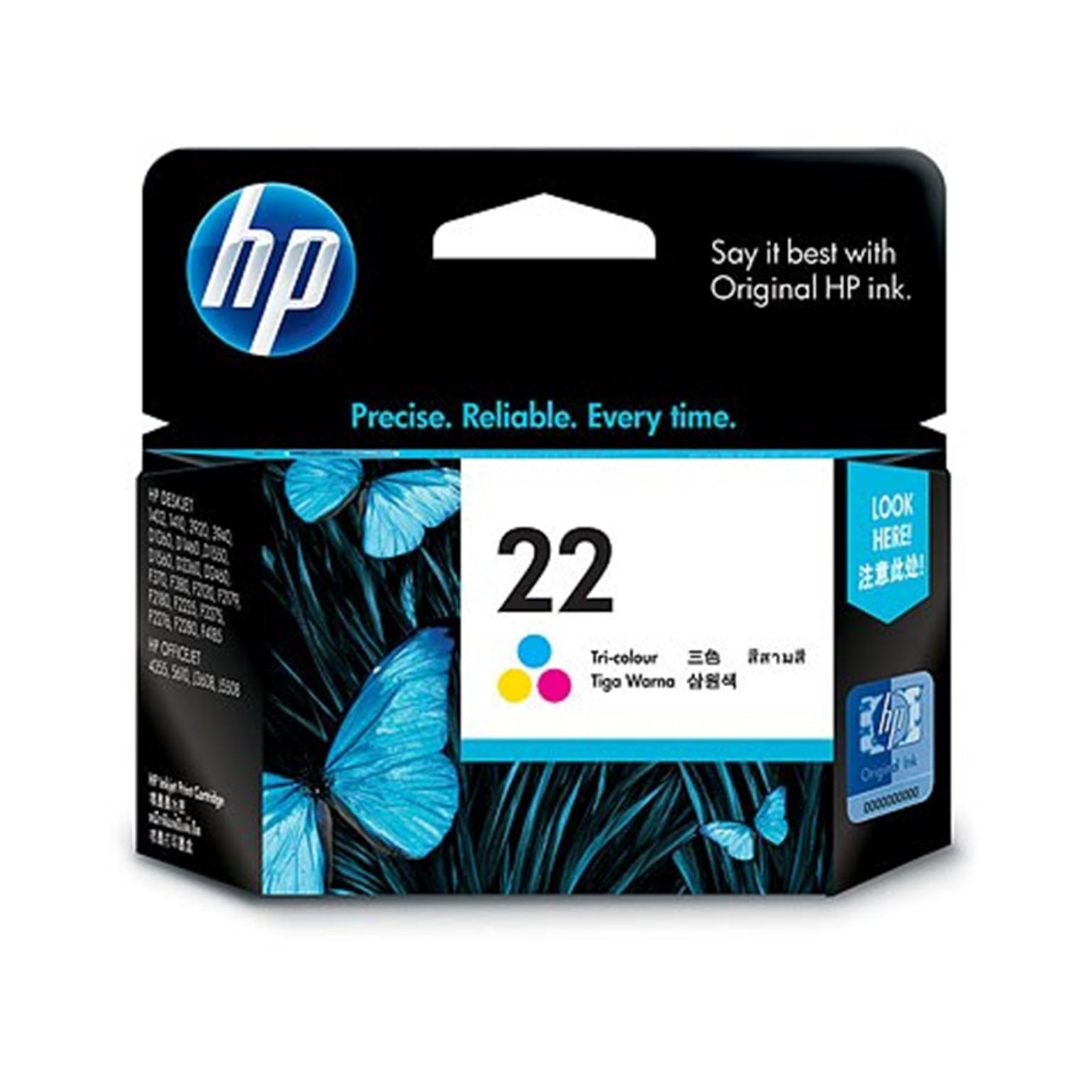 HP 22 INK TRICOLOR