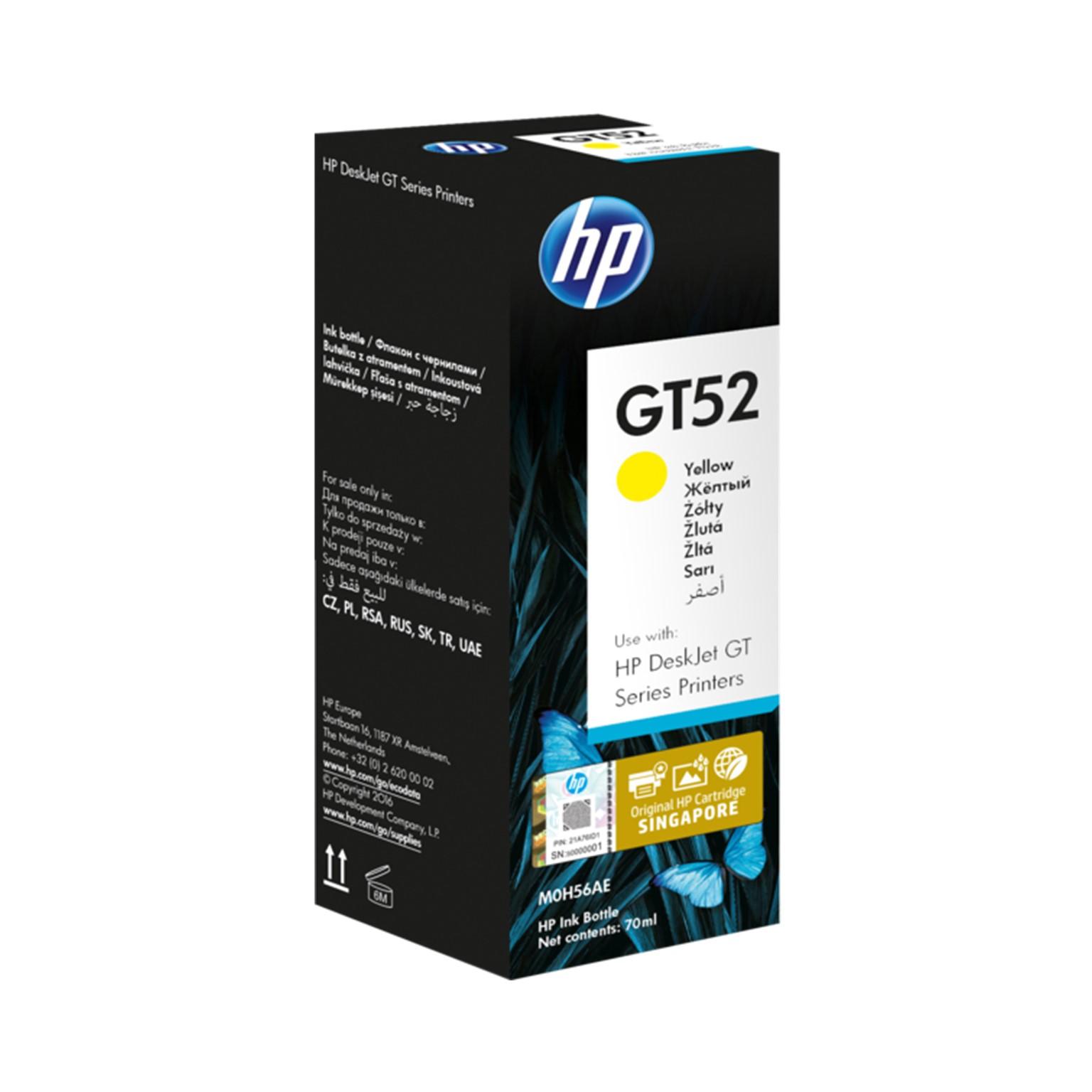 HP GT52 Yellow