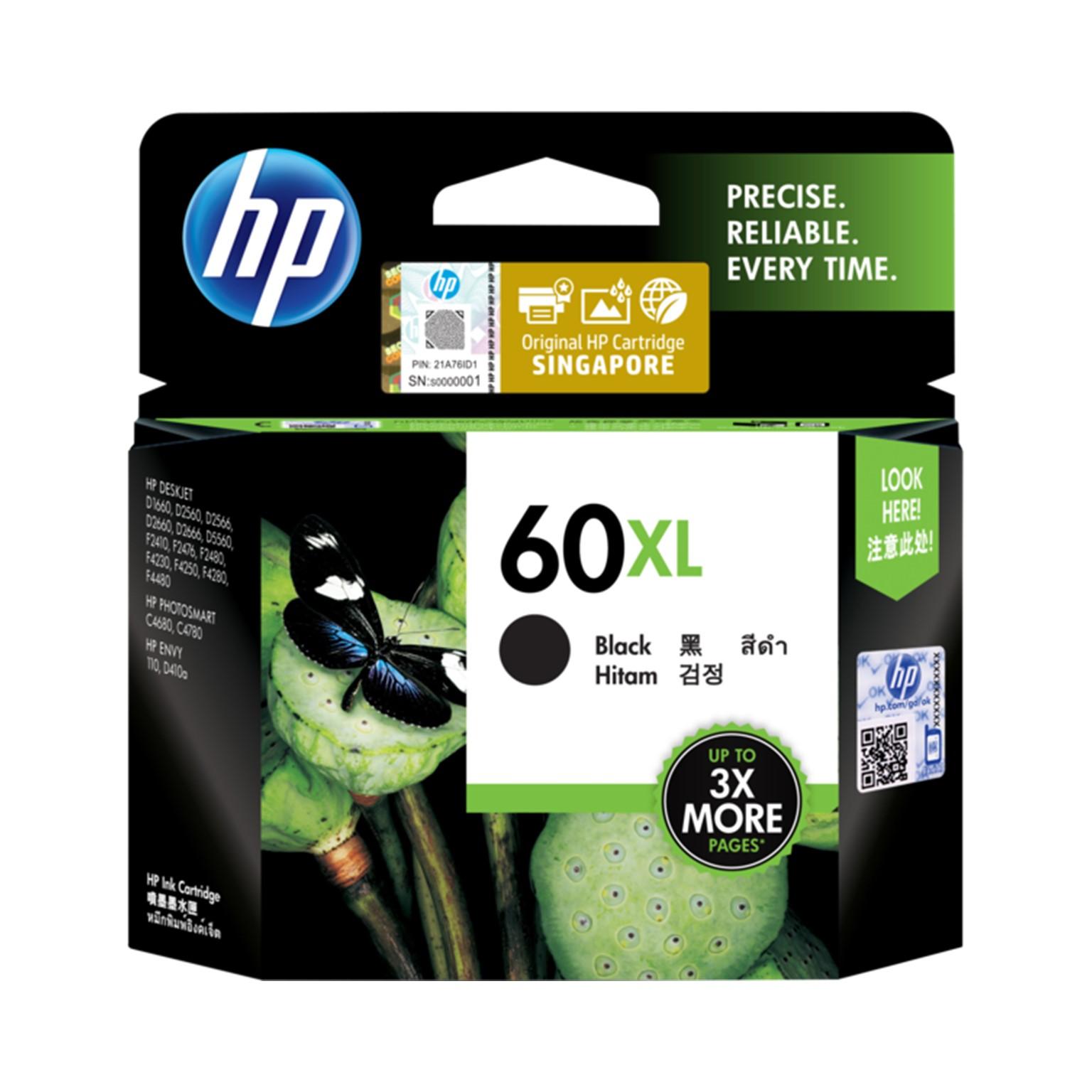 HP 60XL Black