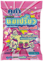Cougar Yoghurt with Berry Flavoured Candy