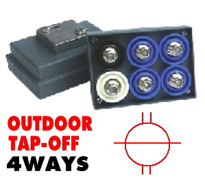 Outdoor Tap-Off CABLE 4Way