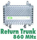 Return Trunk Amp 860MHz dBy     Hybrid Module